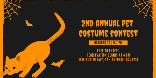 2nd Annual Pet Costume Contest