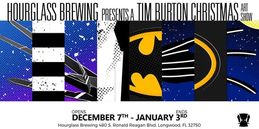 A Tim Burton Christmas Art Show