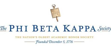 Phi Beta Kappa Tampa Bay Alumni Association 26th Annual Dinner Meeting tickets