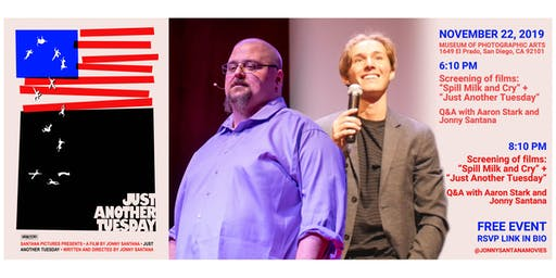 """""""Just Another Tuesday"""" Film Premiere + Q&A with Tedx Speaker Aaron Stark"""