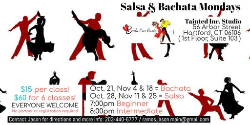 Vamos a Bailar! Learn Salsa and Bachata with Baila Con Gusto CT