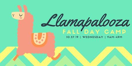 Fall Day Camp - Llamapalooza tickets