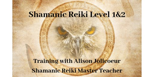 Shamanic Reiki Level 1&2 Training with Alison Jolicoeur