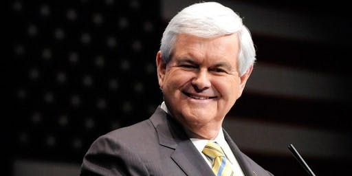 Newt Gingrich's New York City book signing for, Trump vs.China!