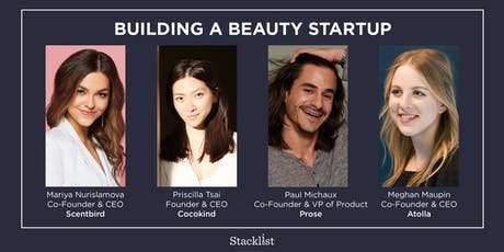 Building a Beauty Startup tickets
