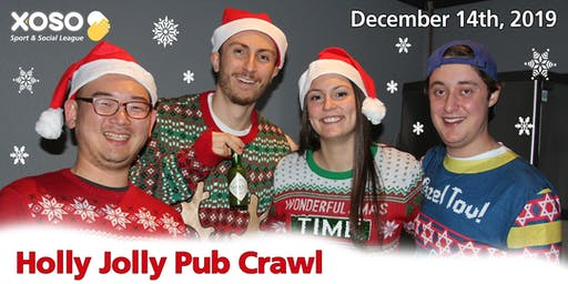 4th annual Holly Jolly Pub Crawl