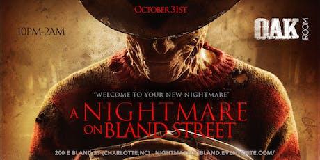 NIGHTMARE ON BLAND STREET! Halloween Party 10/31 tickets