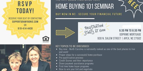 Home Buying 101 Seminar tickets