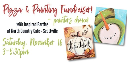 Pizza & Painting FUNdraiser!