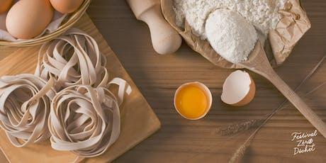 Fabrication de pâtes fraîches billets