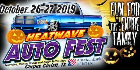 Heat Wave Auto Fest Corpus Christi 2019 tickets