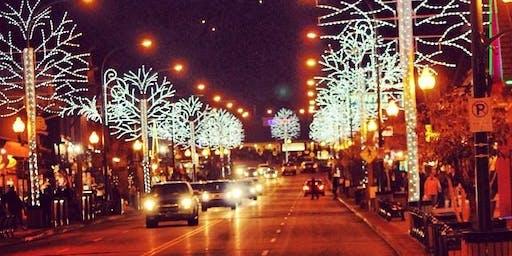 November 30 Gatlinburg Winter Magic Trolley Ride of Lights