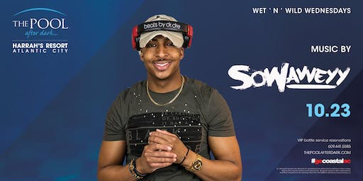 Wet 'N' Wild Wednesday with DJ Sowavveyy at The Pool After Dark - FREE GUESTLIST