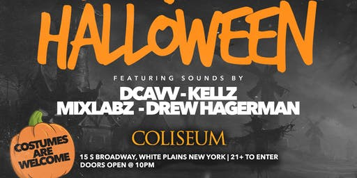 Coliseum Nightclub Halloween Party