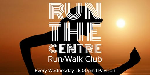 Weekly Run and Walk Club:  Run the Centre