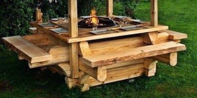 costruzione di un tavolo con la segheria mobile