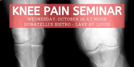 Ozzie Smith Center KNEE Pain Seminar - Oct. 16 tickets