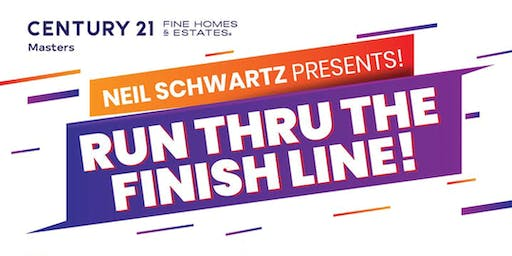 Run Through The Finish Line!