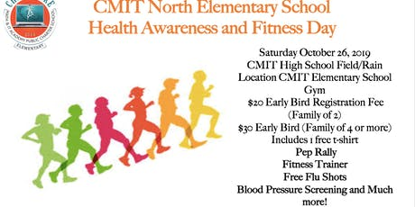 CMIT North Elementary Health & Fitness Day tickets