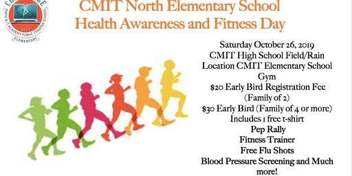 CMIT North Elementary Health & Fitness Day