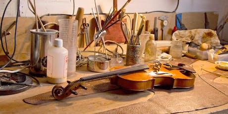 Cuidados  e Manutenção do seu instrumento de cordas friccionadas ingressos