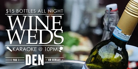 Wine Wednesdays at The Den! tickets