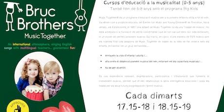 MUSIC TOGETHER - CLASSE DE PROVA tickets