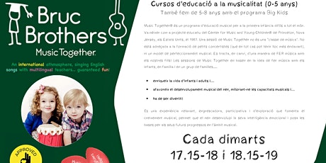 MUSIC TOGETHER - CLASSE DE PROVA entradas