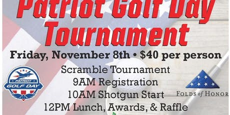Patriot Golf Day Tournament tickets