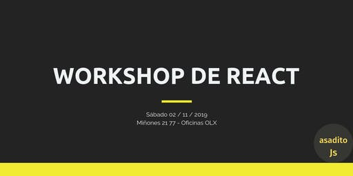 Workshop de React for Beginners
