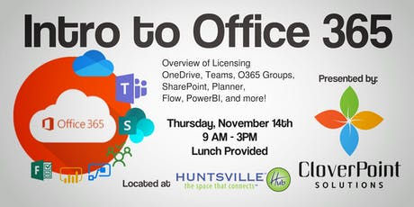 Intro to Office 365, Licensing, Apps and More!  tickets