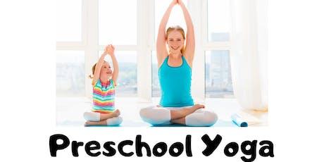 Preschool Yoga Class tickets