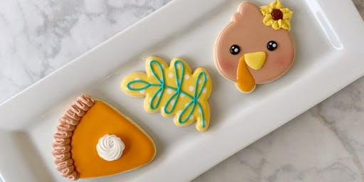 Cookie Decorating with Cookie Rouge- Turkey Time!! (Perkins/Highland)