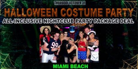 HIP HOP Halloween VIP Nightclub Party Package Deal  tickets