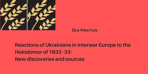 Keynote Address at the 2019 HREC Research Conference:  Ola Hnatiuk