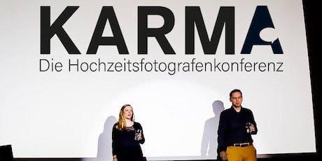 Karma - Die Hochzeitsfotografenkonferenz tickets