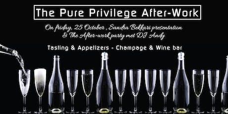 Pure Privilege  After-Work Party  met Sandra Bekkari & DJ Andy tickets