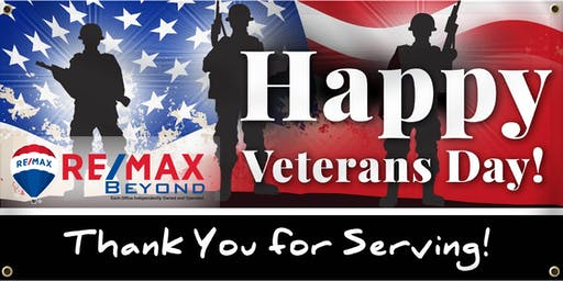 Veterans  Day RE/MAX Beyond Networking