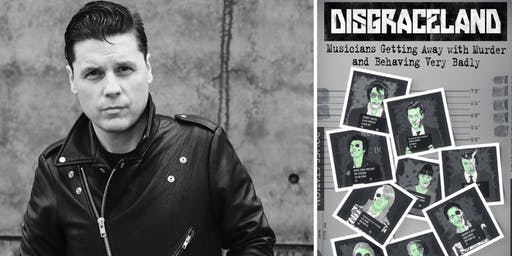Jake Brennan discusses & signs DISGRACELAND