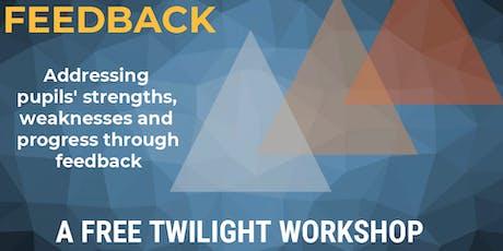 WWA  Feedback Twilight - Exploring the evidence for effective feedback tickets
