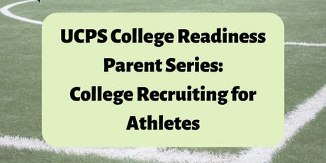 Parent College Readiness Series: College Recruiting for Athletes tickets