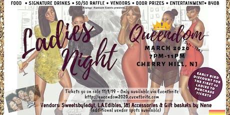 Queendom Ladies Night 2020 tickets