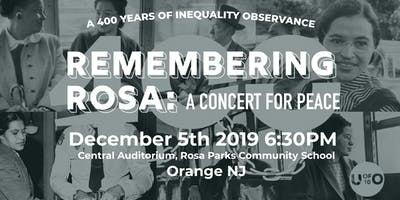 Remembering Rosa: A 400 Years of Inequality Observance