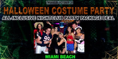Halloween VIP Party Package to Biggest Nightclub in Miami Beach tickets