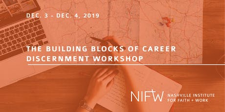 The Building Blocks of Career Discernment Workshop - EVENING SESSION tickets