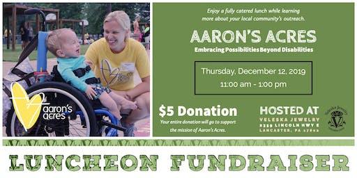 Veleska Luncheon Fundraiser for Aaron's Acres