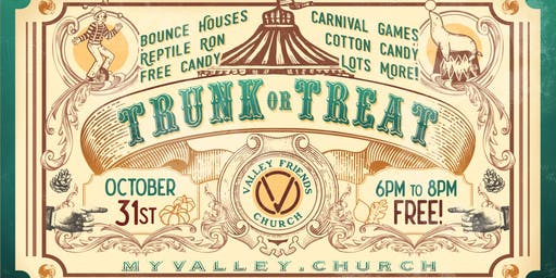 Halloween Trunk or Treat Circus
