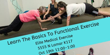 Basics of Functional Exercise (Becoming Active in Austin Women  40+ group) tickets
