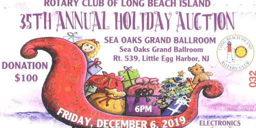 35th Annual Holiday Auction