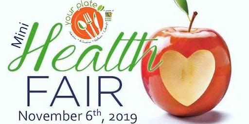 Your Plate Mini Health Fair!